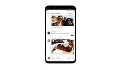 Google Photos may get more like messaging apps in the future. (Source: Google)