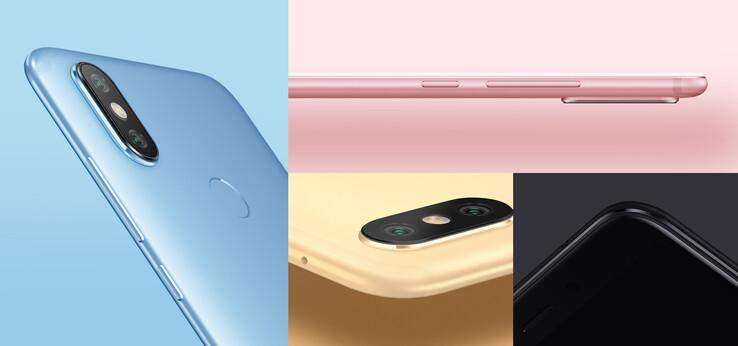 Xiaomi released the Mi A2 and Mi A2 Lite in July 2018. (Image source: Xiaomi)