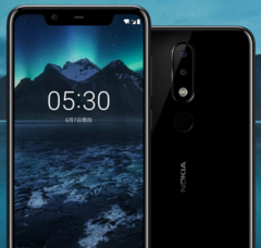 The notched Nokia X5 is official, but could roll out globally as the 5.1 Plus. (Source: Nokia)