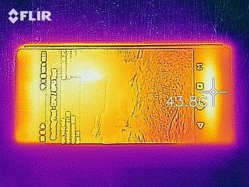 Heat image, front