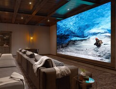 16K Sony Crystal LED tech is ready for the TV room. (Source: Sony)