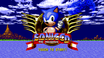 Some Android games, like Sonic CD, translate well to the laptop form factor...