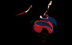 This image of Superman was used to tease the Samsung Galaxy Note 10. (Image source: imgarit)