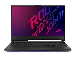 ROG Strix Scar 17 G732LXS, test device provided by Asus Germany