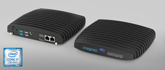 The IPC3 is a ruggedized mini-PC with a passive cooling system. (Source: Fit PC)