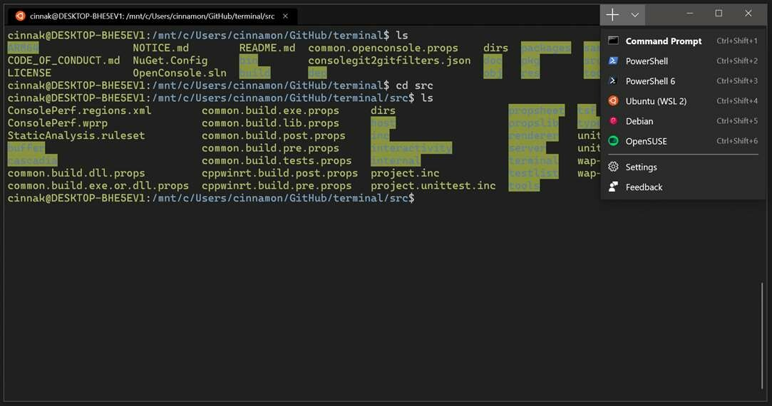 The new Windows Terminal is now available for download from