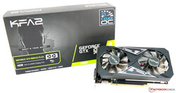 The KFA2 GeForce GTX 1650 EX Plus (1-Click OC), provided courtesy of: KFA2 Germany