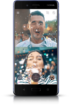 The Nokia 8 is now on sale in Germany and Australia. (Source: Nokia)