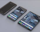 An LG rollable phone render. (Source: LetsGoDigital)
