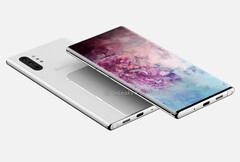 The Samsung Galaxy Note 10 Pro. (Source: OnLeaks/PriceBaba)