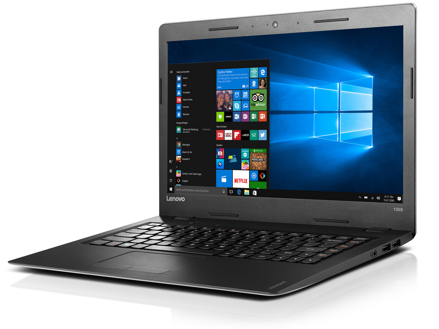 lenovo ideapad 100s-14ibr  n3060  hd 400  laptop review