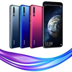 The Honor Magic 2 in all 3 color variants. (Source: Honor)