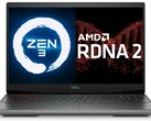 An all-AMD laptop with Zen 3 CPU and RDNA 2 GPU architectures could be on the cards for 2021. (Image source: Dell (G5 15)/AMD - edited)