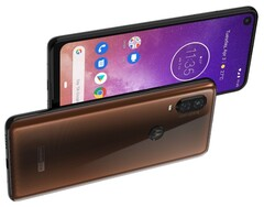 Motorola One Vision press render, 48 MP main camera and Android Pie, April 2019 launch