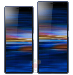 Sony XA3 Plus/Ultra has leaked out with an incredibly tall 6.5-inch 21:9 display. (Source: WinFuture)