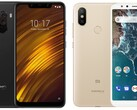 The Poco F1 and the Mi A2 were both released in 2018. (Image source: Xiaomi - edited)