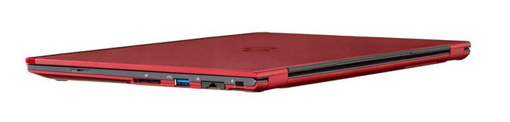 The LifeBook U938 is only 0.6-inch thick. (Source: Fujitsu)