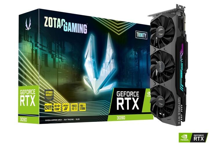 Zotac Gaming GeForce RTX 3090 Trinity. (Image Source: Zotac)