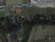 GPS Test: Forest section Garmin
