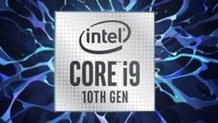 The Intel Core i9-10900K can reach 5.3 GHz clock rates. (Image source: Intel/VideoCardz)