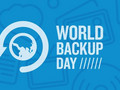 It is possible to take the World Backup Day pledge on either Facebook or Twitter. (Source: PCMag)