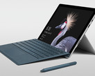 The Surface Pro features improved performance, battery life, and design over the Surface Pro 4. (Source: Microsoft)