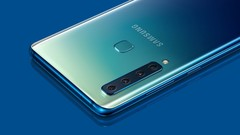 The Galaxy A9 was the first phone with four rear cameras, a feature expected to be seen on one S10 model. (Source: T3)