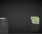 Linux Mint 18.3 running the Cinnamon desktop environment. (Source: Linux Mint)