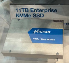 The new 9200 ECO NVMe SSDs have a U.2 form-factor that is specific to enterprise servers. (Source: Anandtech)