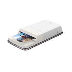 The Polaroid Insta-Share Printer Mod turns digital pixels into 2 x 3 inch printed photos sharable with friends and family. (Source: Motorola)