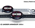 The Galaxy Watch Active 2 Under Armour offers exclusive running features. (Source: Under Armour))