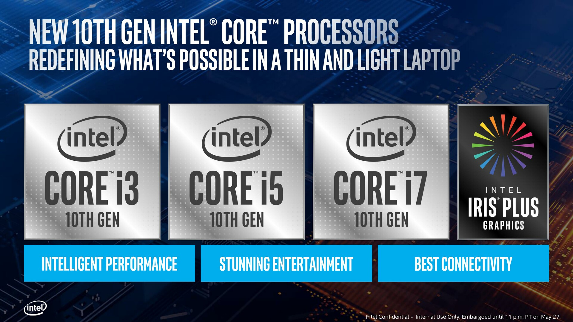 10th Gen Intel Core processors unveiled at Computex 2019