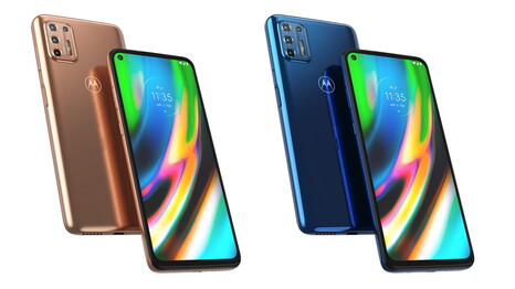 The Moto G9 Plus will be available in two colours in the UK and Europe. (Image source: Motorola)