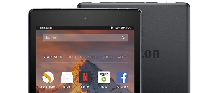 Amazon Fire HD 8 (2018) Tablet Review - NotebookCheck net