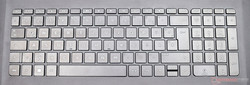 Keyboard of the HP Pavilion 17-x110ng