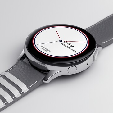 Galaxy Z Flip Thom Browne Edition Galaxy Watch Active2 (Source: Samsung Global Newsroom)