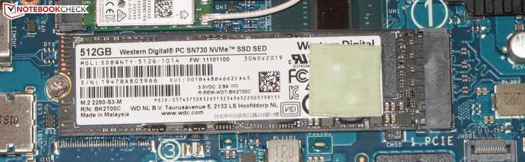 An NVMe SSD serves as system drive.
