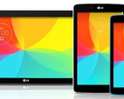 LG G Pad Android tablet family 2014 refresh