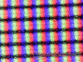 Matte subpixel array (157 PPI)