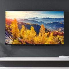 The 82-inch Mi TV will support 8K and 5G. (Image source: Xiaomi)