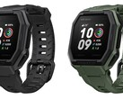 The Xiaomi Amazfit Ares smartwatch is available in black and army green. (Image source: Amazfit)