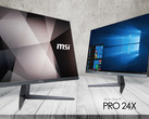 The MSI Pro 24X AiO boasts a super-thin design with narrow bezels (Source: MSI)