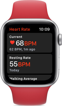 The Apple Watch Series 4 comes with a built-in heart rate and ECG monitor. (Source: Apple)