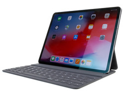 The third-generation iPad Pro 12.9 with the Apple Smart Keyboard