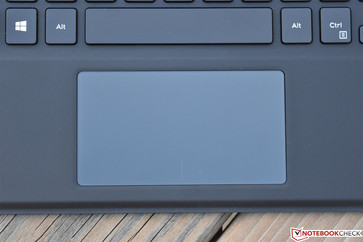 The touchpad also exceeded our expectations