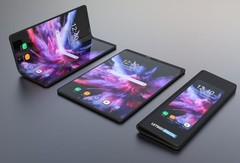 The Samsung Galaxy Fold could end up being a game-changing device. (Source: LetsGoDigital)