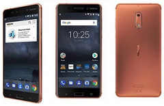 Nokia 6 unlocked Android smartphone with 32 GB storage, in Copper finish, now available on Amazon Prime