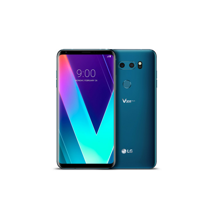 The new LG V30S ThinQ is a modest upgrade on the earlier V30. (Source: LG)