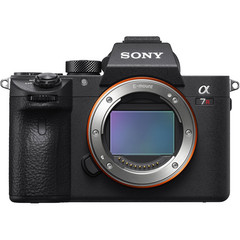 The A7R III from Sony is one of the most popular full-frame cameras in North America. (Image source: Sony)