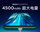 The Redmi Note 8 Pro's battery capacity has also been revealed. (Source: Redmi)